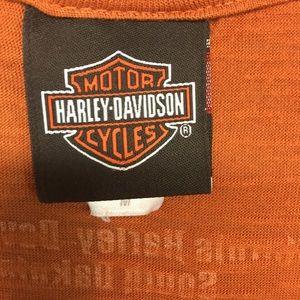 Harley-Davidson Tops - Harley Davidson Cap Sleeve Tee
